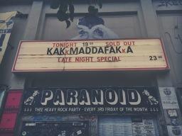 Konzertreview: KAKKMADDAFAKKA im Lido Berlin